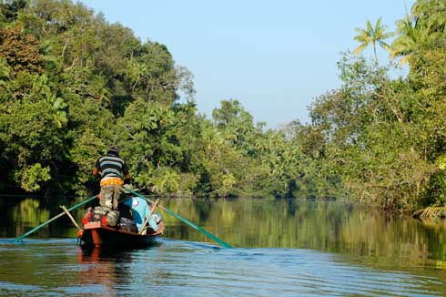 Upriver in Chi Phat