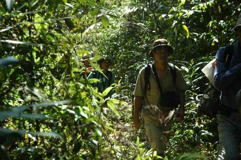 Trekking around Chi Phat