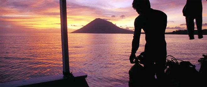 Manado Tua Volcano, Bunaken, Sulawesi